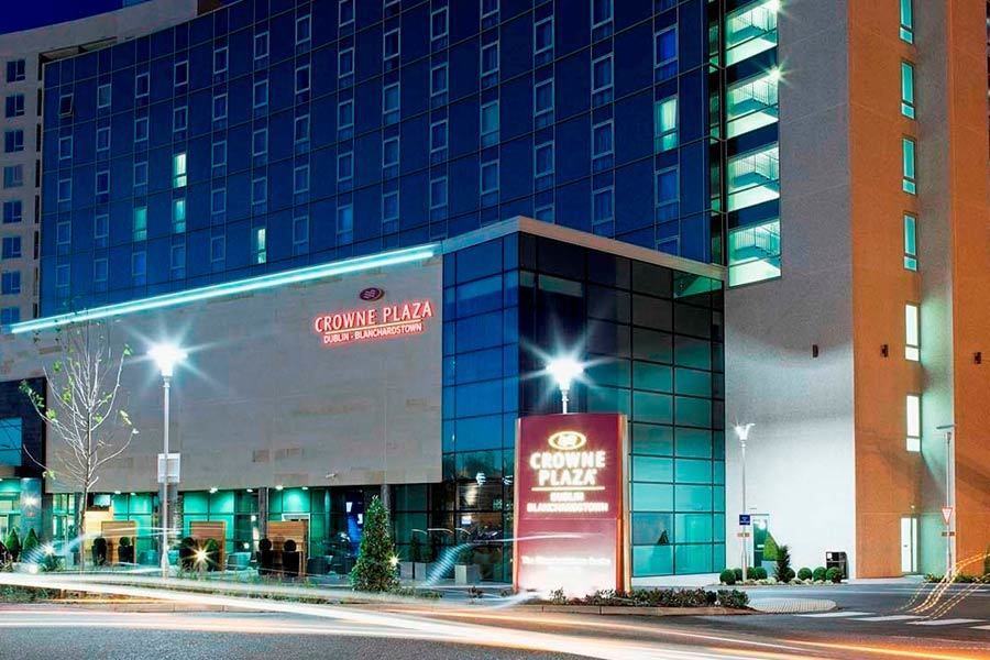The Crowne Plaza Hotel in Blanchardstown