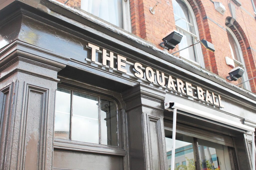the square ball dublin