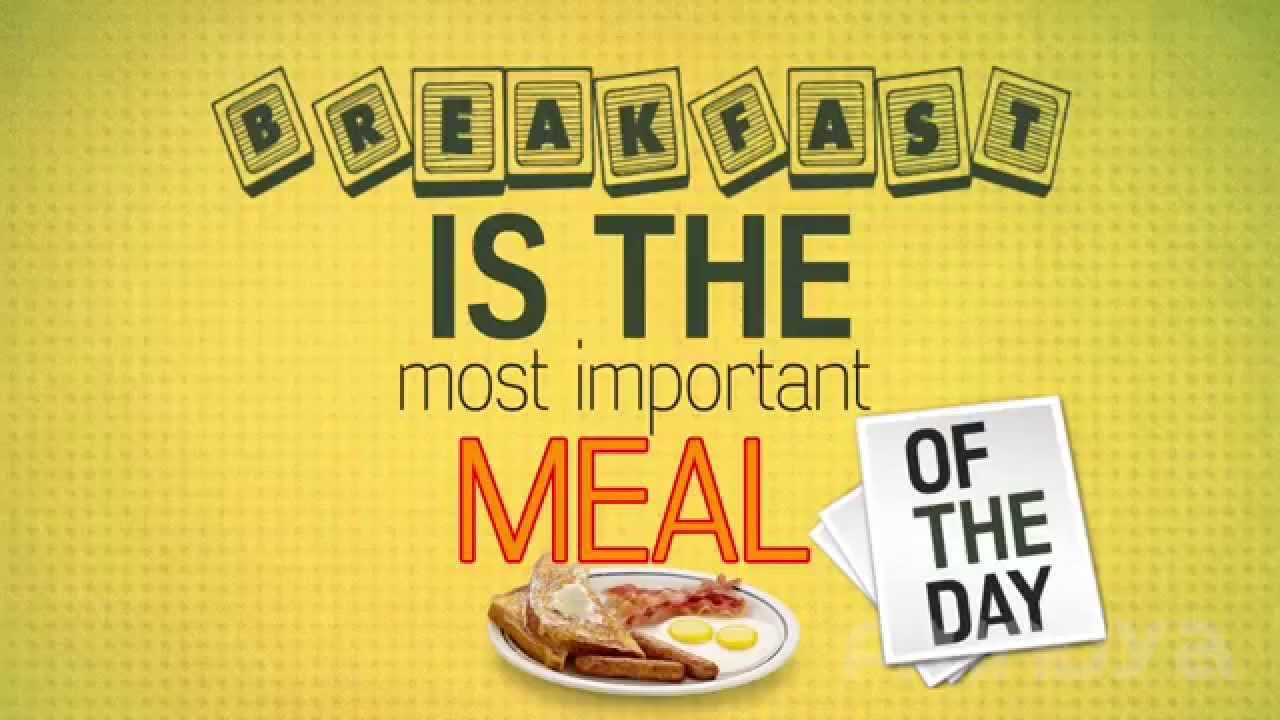 breakfast important meal day essay Breakfast represents the most important meal of the day i chose this topic  because i often forget to eat breakfast and i want to know why this is not a good.