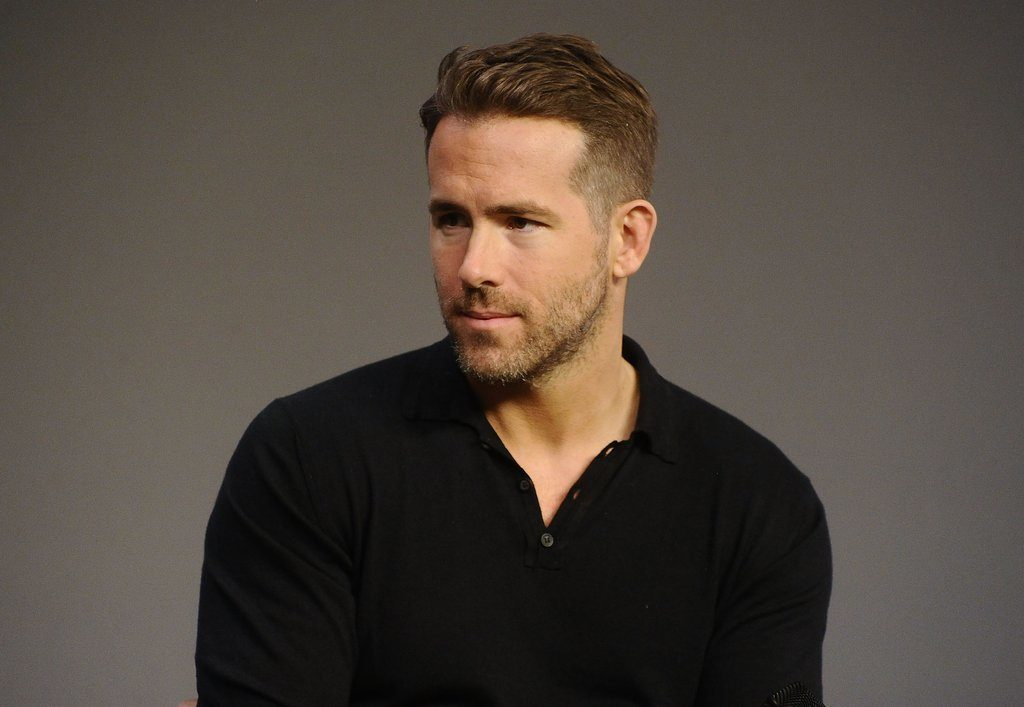 ryan reynolds Light Stubble