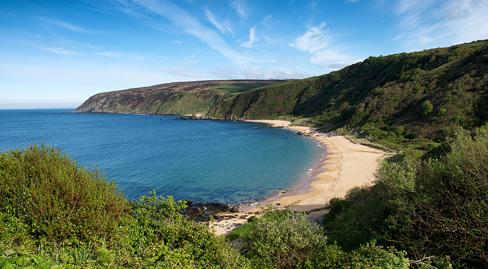 Kinnagoe Bay, Donegal