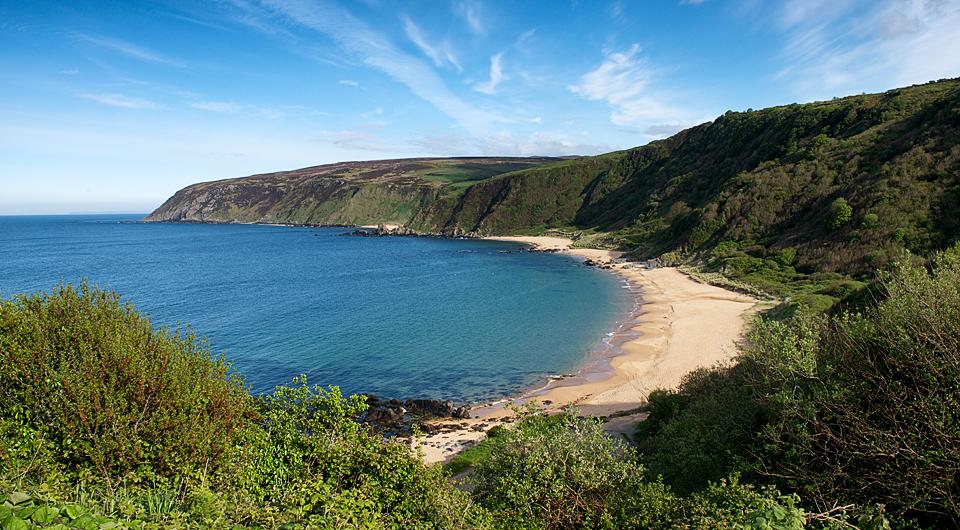 Kinnagoe Bay, Donegal