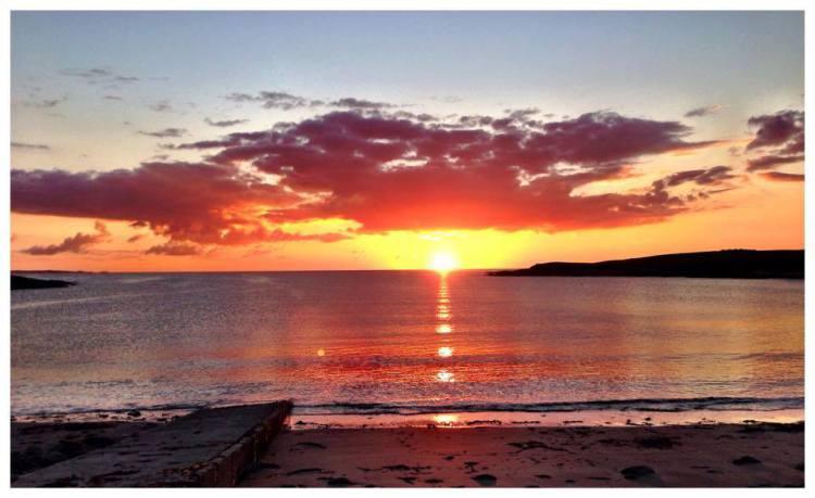 Whitestrand beach, Clare