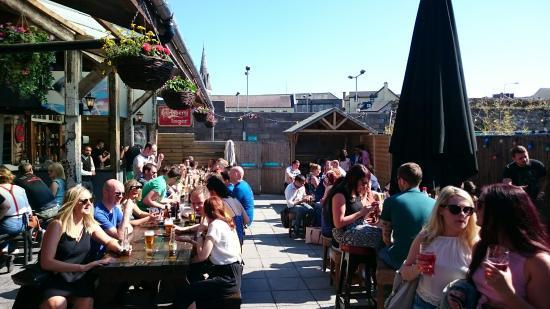 Deep South (Cork) beer garden ireland