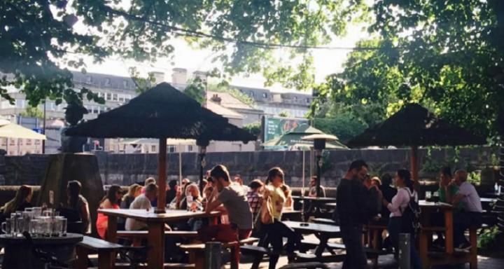 The Locke Bar beer garden Limerick