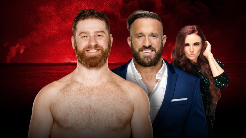 sami-zayn-vs-mike-kanellis-with-maria-kanellis