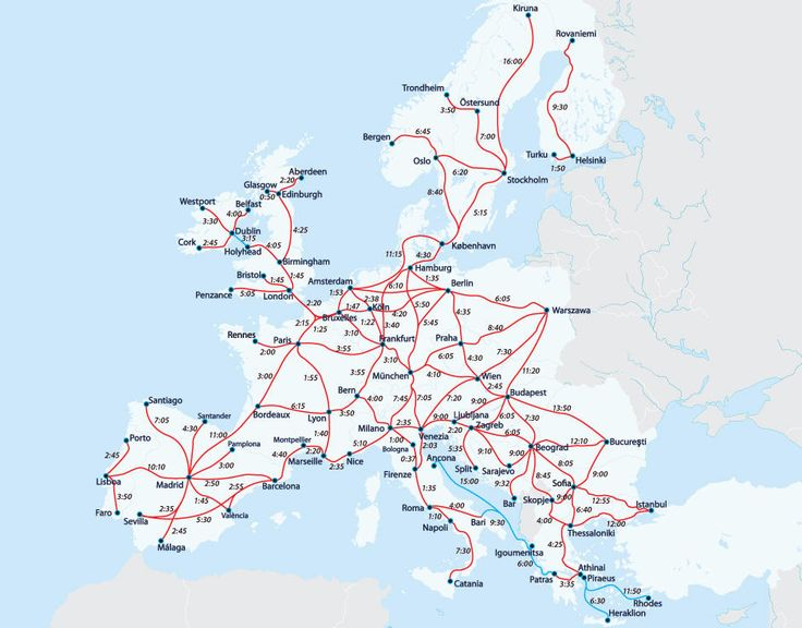 interrail-map-interrail-europe