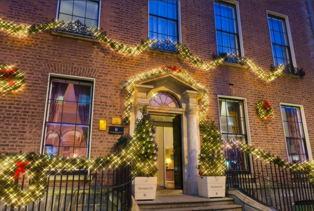 Five Star New Year's Eve Dinner - Merrion Hotel