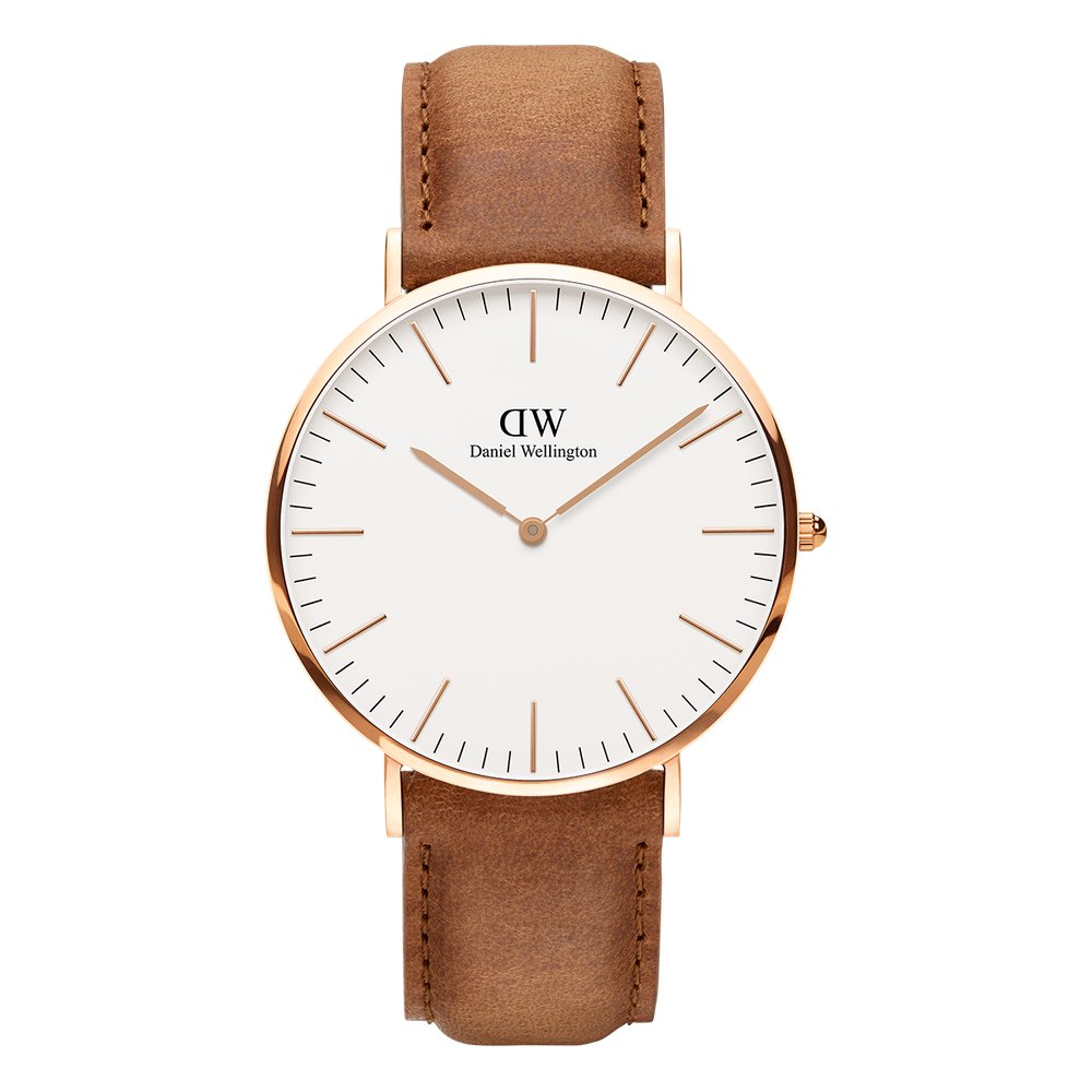Daniel Wellington classic brown watch