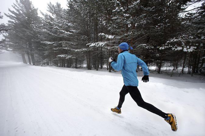 Winter exercise clothing